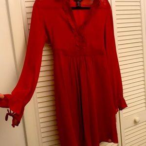 Express 100% silk dress